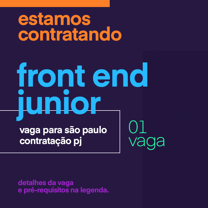 Front End Junior